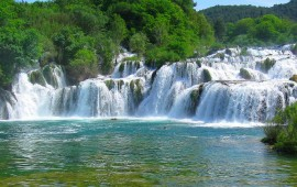 National park Krka Waterfalls